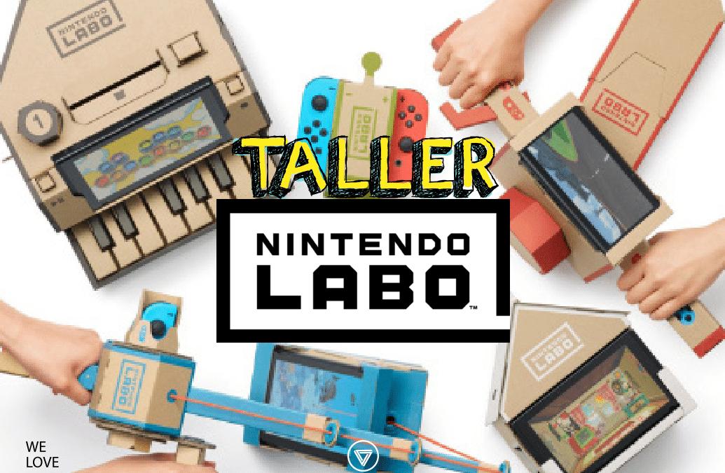 Taller Nintendo Labo